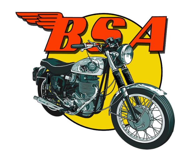 Sticker BSA