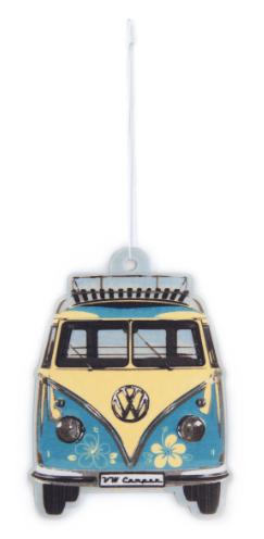 VW T1 Combi Parfum d'ambiance - Piña Colada/Turquoise
