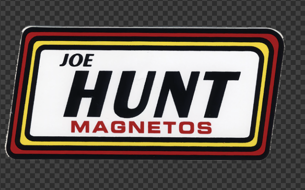 Sticker JOE HUNT MAGNETOS