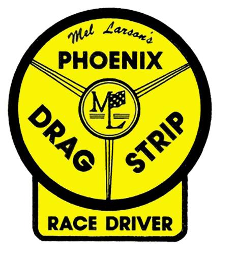 Sticker PHOENIX DRAG STRIP