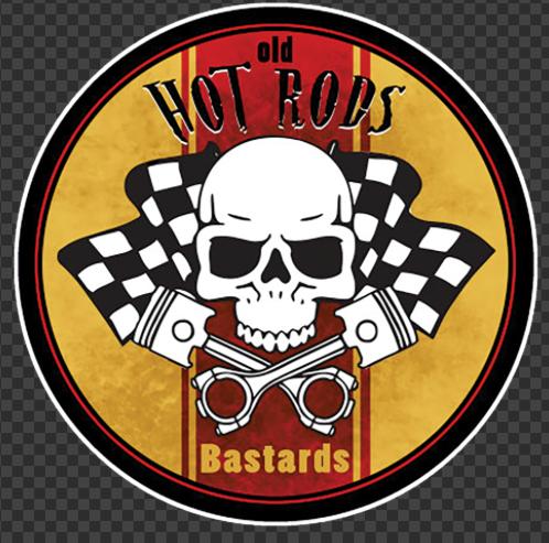 Sticker HOT ROD Bastards