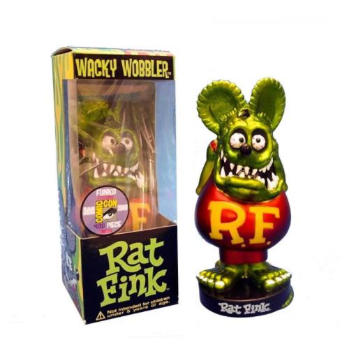 "Figurine RAT FINK ""Tête Verte  """