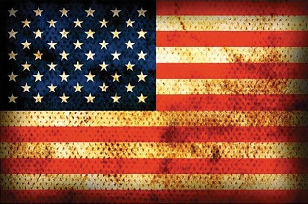 Sticker Drapeau USA