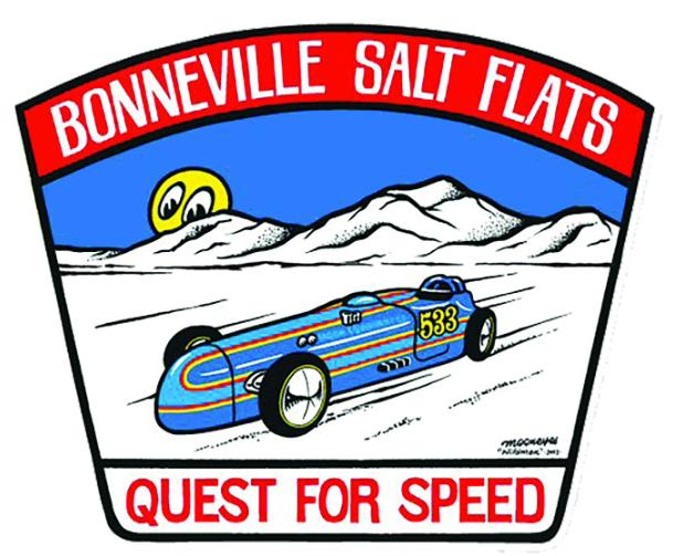 Sticker BONNEVILLE SALT FLATS