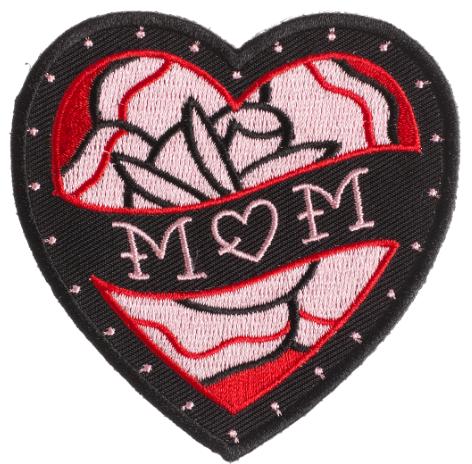 Patch Sourpuss Mom Heart
