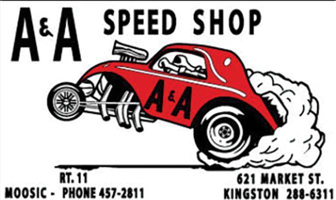 Sticker A&A SPEED SHOP