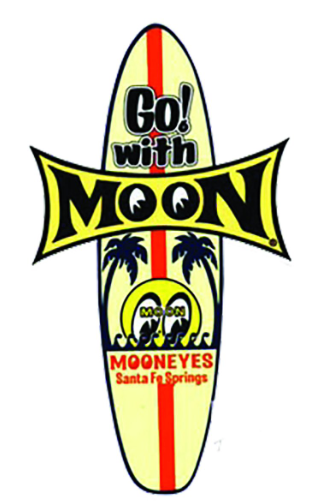 Sticker GO ! with MOON