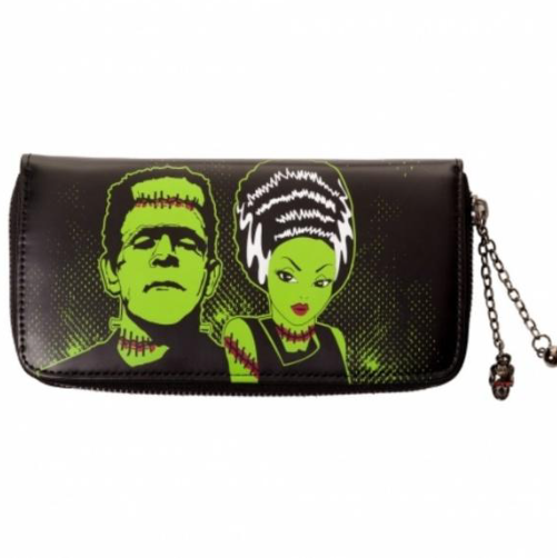 Porte Monnaie Banned Clothing Frankenstein et sa Fiancée