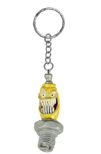 Porte-clés 3D Mr Sparky Spark Plug