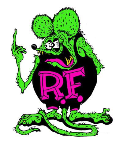 Sticker Rat Fink F.CK