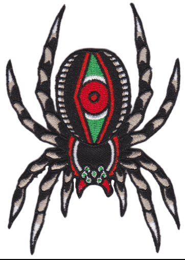 Patch Tarantula Sourpuss