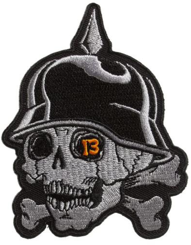 Patch Kustom Kreeps 13 Skull