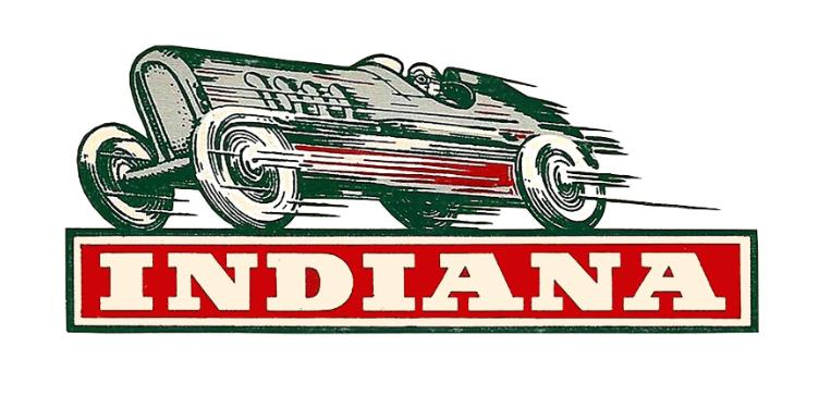 Sticker INDIANA