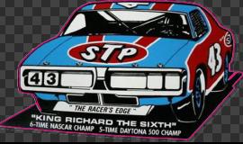 Sticker STP ( King Richard )