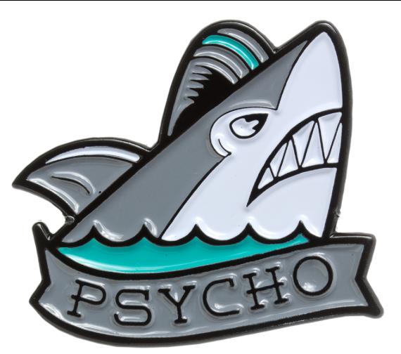 Pin's Psycho Shark Sourpuss