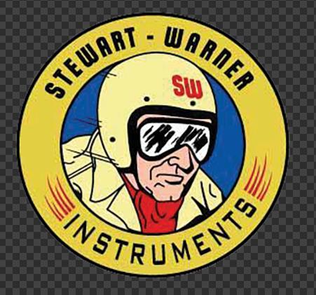 Sticker STEWART-WARNER