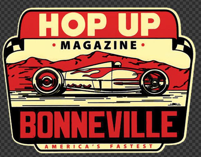 Sticker HOP UP BONNEVILLE