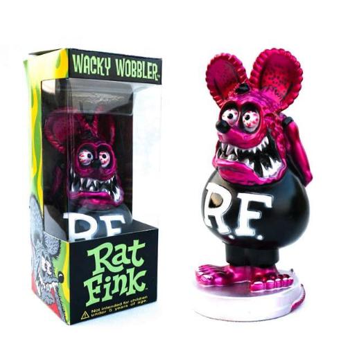 """Figurine RAT FINK """"Tête Violette  """""""