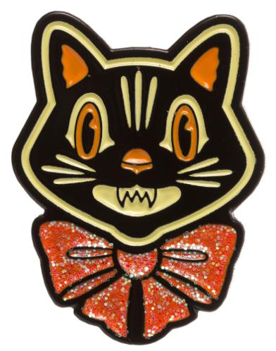 Pin's Halloween Cat Crazy Sourpuss