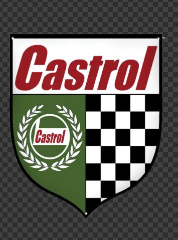 Sticker CASTROL