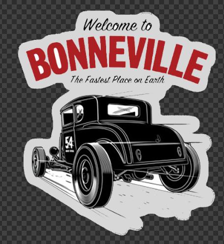 Sticker Welcome to BONNEVILLE