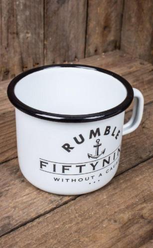 Mug en émail -Rumble59 - Black as your Soul