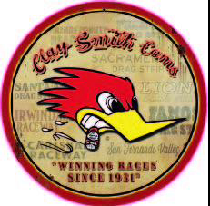 Sticker Clay Smith Cams
