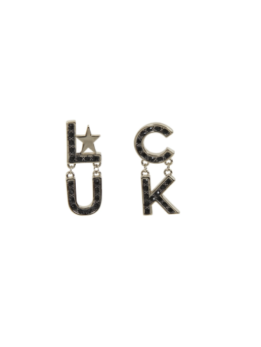 Boucles d'oreilles ALL THE LUCK , Rockabilly , Pin-Up , Vintage