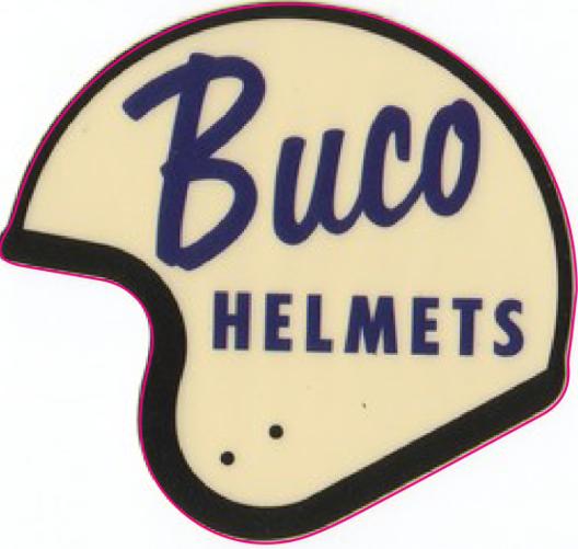 Sticker BUCO Helmets