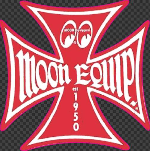 Sticker MOON EQUIP (Rouge)