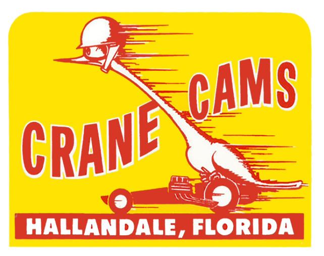 Sticker CRANE CAMS