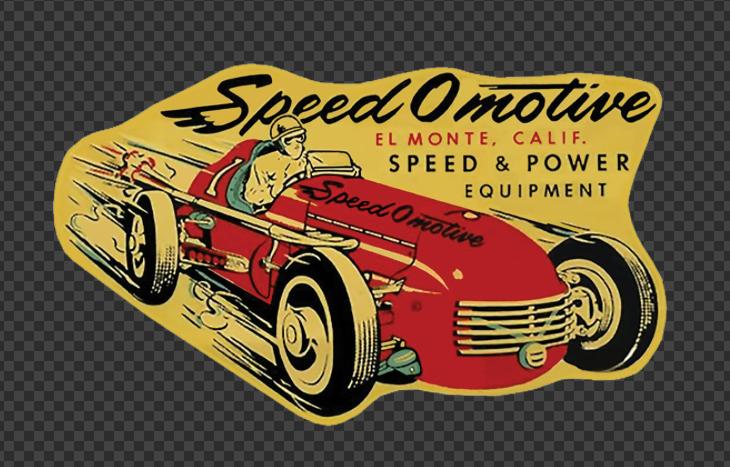 Sticker Speed Omotive