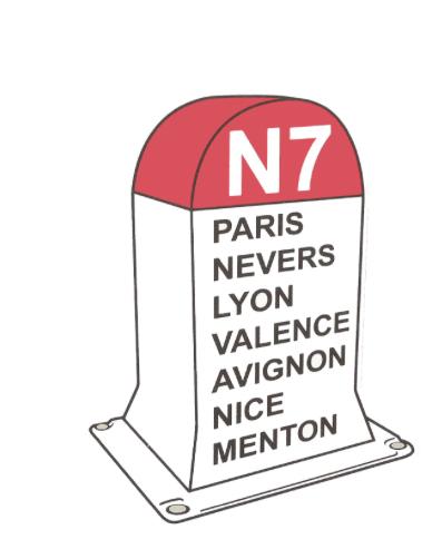 Sticker Nationale 7