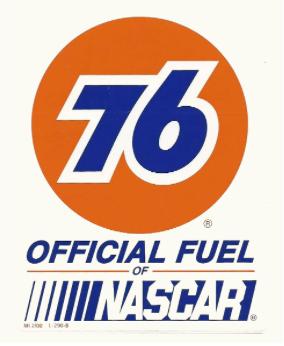 Sticker 76 NASCAR