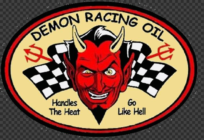 Sticker DEMON RACING OIL
