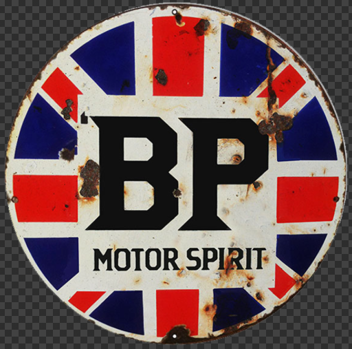 Sticker BP MOTOR SPIRIT