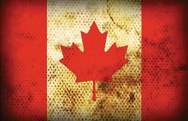 Sticker Drapeau CANADA