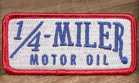 Patch Motor Oil 1/4 miler Rumble59