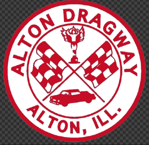 Sticker ALTON DRAGWAY