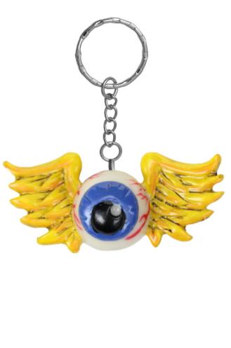 Porte-clés 3D Kustom Kulture Flying Eyeball