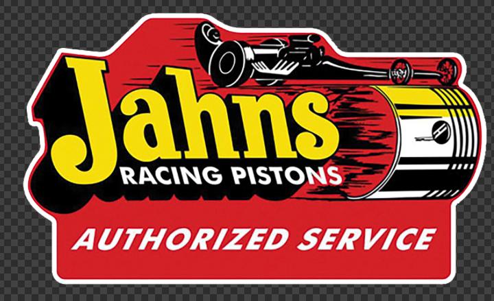 Sticker Jahns RACING PISTONS
