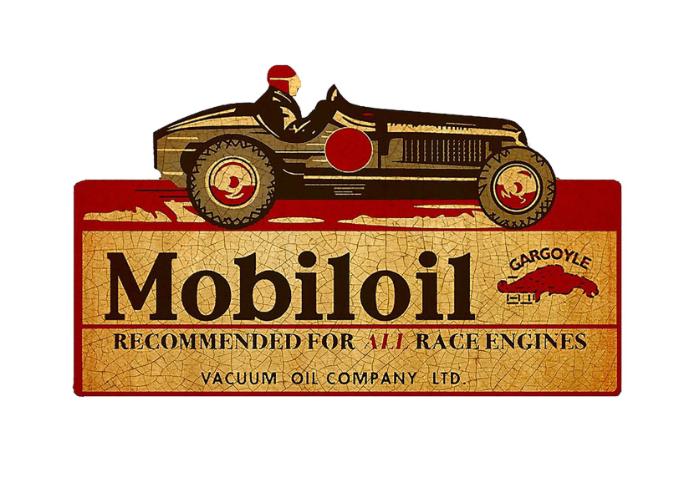 Sticker Mobiloil