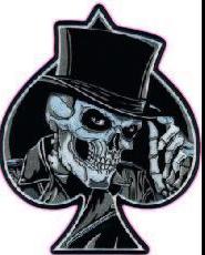 er As de pic & Skull