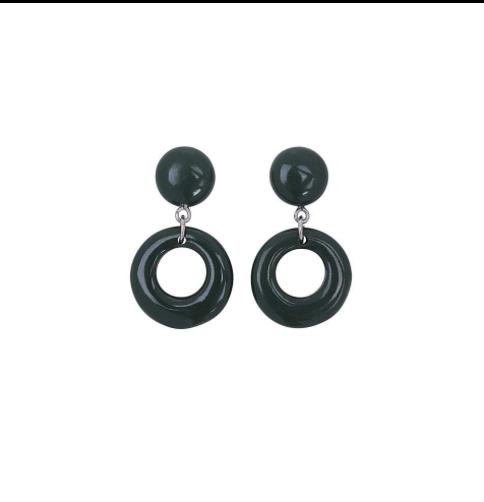 Boucles d'oreilles MELINA HOOP, Rockabilly , Pin-Up , Vintage