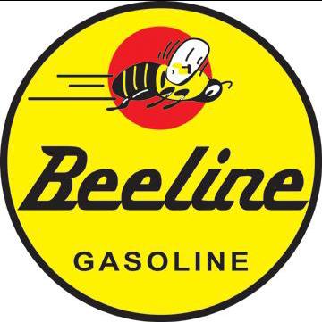 Sticker Beeline GASOLINE