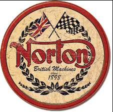 Sticker NORTON RETRO