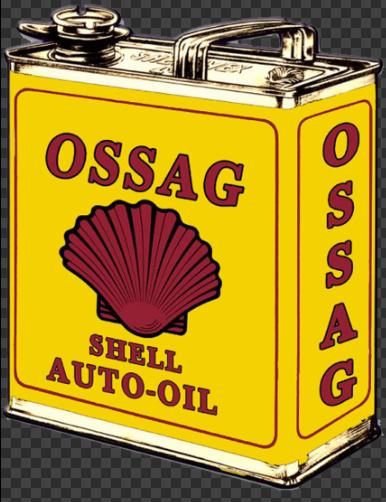 Sticker SHELL AUTO-OIL
