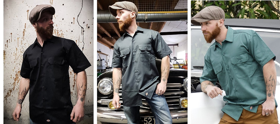 Chemise Manches Courtes Style Ouvrier Dickies