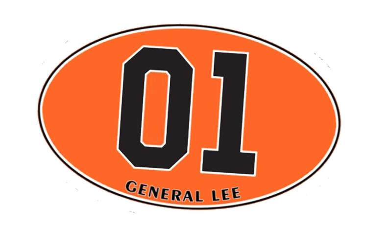 Sticker GENERAL LEE 01