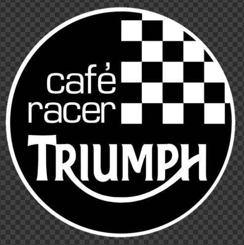 Sticker Café Racer TRIUMPH